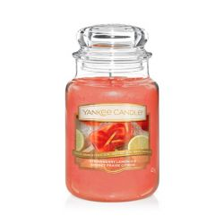 Yankee Candle  color rosso  Strawberry Lemon Ice Large Jar online - Prezzo:   29.90 €
