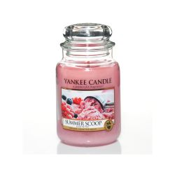 Candele profumate Yankee Candle color rosa  Summer Scoop Large Jar online - Prezzo:   22.43 €
