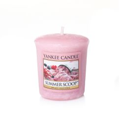 Candele profumate Yankee Candle color rosa  Summer Scoop Votive online - Prezzo:   2.65 €