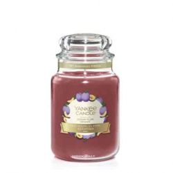 Candele profumate Yankee Candle color rosso  Sugar Plum online - Prezzo:   29.90 €