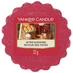 Candele profumate Yankee Candle color rosso  After Sledding online - Prezzo:   2.25 €