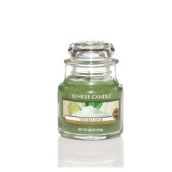 Candele profumate Yankee Candle color verde  Vanilla Lime Small Jar online - Prezzo:   8.33 €