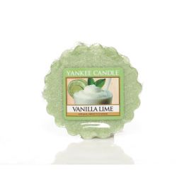 Candele profumate Yankee Candle color verde  Vanilla Lime Wax Melt online - Prezzo:   2.25 €