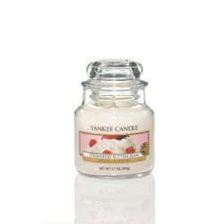 Candele profumate Yankee Candle color bianco  Strawberry Buttercream Small Jar online - Prezzo:   11.90 €