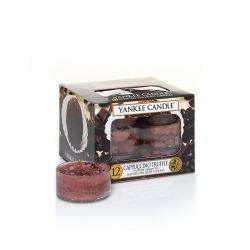 Candele profumate Yankee Candle color marrone  Cappuccino Truffle Tea Light online - Prezzo:   6.96 €