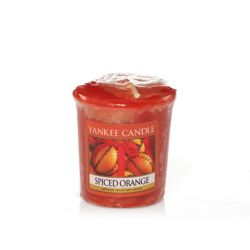 Candele profumate Yankee Candle color arancione  Spiced Orange Votive online - Prezzo:   2.65 €