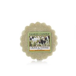 Candele profumate Yankee Candle color verde  Olive & Thyme Tarts Wax Melts online - Prezzo:   2.25 €