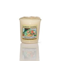 Candele profumate Yankee Candle color giallo  Christmas Cookie Votive Candle online - Prezzo:   2.65 €