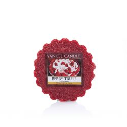 Candele profumate Yankee Candle color rosso  Berry Trifle Tarts Wax Melts online - Prezzo:   2.25 €