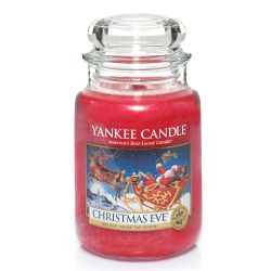 Candele profumate Yankee Candle color rosso  Christmas Eve Large Jar online - Prezzo:   22.43 €