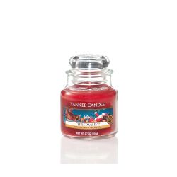 Candele profumate Yankee Candle color rosso  Christmas Eve Small Jar online - Prezzo:   8.93 €