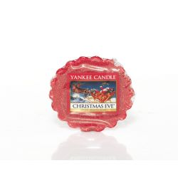Candele profumate Yankee Candle color rosso  Christmas Eve Wax Melt online - Prezzo:   2.25 €