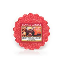 Candele profumate Yankee Candle color rosso  Christmas Memories Tarts Wax Melts online - Prezzo:   2.25 €