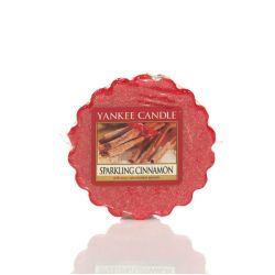 Candele profumate Yankee Candle color rosso  Sparkling Cinnamon Wax Melt online - Prezzo:   1.12 €