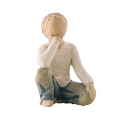 Statuine Willow Tree  color   INQUISITIVE CHILD online - Prezzo:   25.00 €