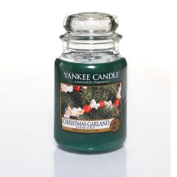 Candele profumate Yankee Candle color verde  Christmas Garland Large Jar online - Prezzo:   22.43 €