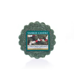 Candele profumate Yankee Candle color verde  Christmas Garland Tarts Wax Melts online - Prezzo:   2.25 €