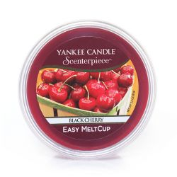 Diffusori Yankee Candle color rosso  Black Cherry Scenterpiece MeltCup online - Prezzo:   5.99 €