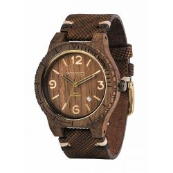 Orologi WeWOOD color marrone  WeWOOD Alpha SW choco rough online - Prezzo:   119.00 €