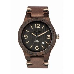 Orologi WeWOOD color marrone  WeWOOD Alpha SW black rough online - Prezzo:   119.00 €