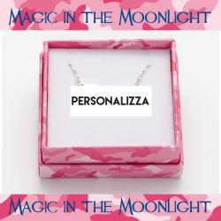 Gioielli Magic in The Moonlight color argento  Collana Personalizzabile online - Prezzo:   38.50 €