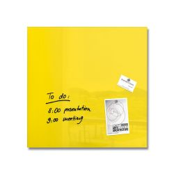 Lavagne Magnetiche Sigel color giallo  Artverum 48 x 48 cm yellow online - Prezzo:   49.00 €
