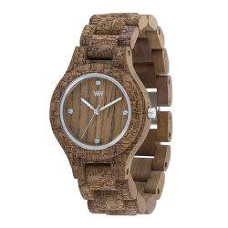 Orologi WeWOOD color marrone  Antea Nut Rough Fabric online - Prezzo:   89.95 €