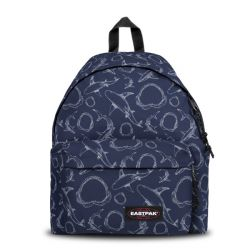 Zaini Eastpak scontati  color blu  Padded Pak'r Sailor Sharks online - Prezzo:   50.00 €