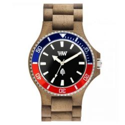 Orologi in legno Wewood  color multicolor  DATE MB nut rough french online - Prezzo:   99.95 €