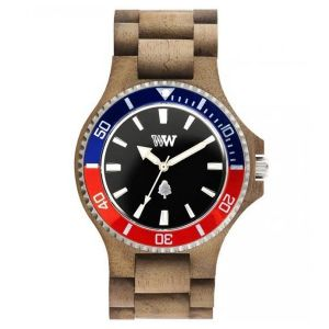 Orologi WeWOOD color multicolor  DATE MB nut rough french online - Prezzo:   99.95 €