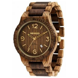 Orologi WeWOOD color marrone  ALPHA SW zebrano choco rough online - Prezzo:   119.00 €