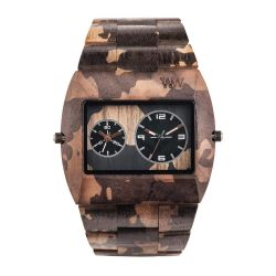Orologi WeWOOD color marrone  JUPITER NATURE Camo Nut  online - Prezzo:   90.30 €