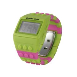 Orologi Queen Watch color verde  FLUO QUEEN 1 online scontato del 50% - Prezzo:   19.50 €
