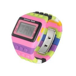 Orologi Queen Watch color multicolor  MULTICOLOR PINK online scontato del 50% - Prezzo:   19.50 €