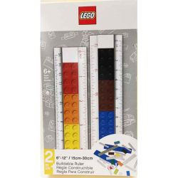 Penne Lego  color multicolor  righello componibile 2 in 1 online - Prezzo:   14.95 €