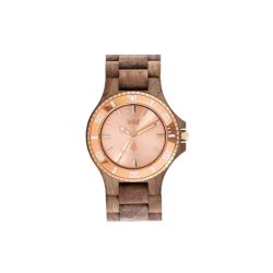Orologi WeWOOD color marrone  DATE MB Nut Rough Rose Gold online - Prezzo:   99.95 €