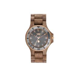 Orologi WeWOOD color marrone  DATE MB Nut Rough Gun online - Prezzo:   99.00 €