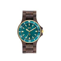 Orologi WeWOOD color marrone  DATE MB Choco Rough Emerald online - Prezzo:   99.00 €