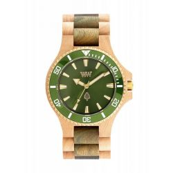 Orologi WeWOOD color beige  DATE MB Beige Army Green online - Prezzo:   99.00 €