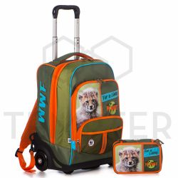 Trolley WWF color verde  SET trolley+astuccio WWF online - Prezzo:   125.00 €