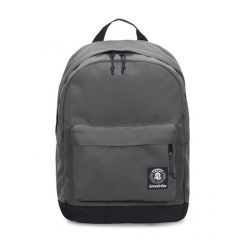 Zaino Invicta color grigio  Carlson Backpack Plain Steel Gray online - Prezzo:   33.60 €