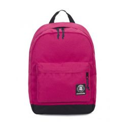 Zaino Invicta color rosa  Carlson Backpack Plain Raspberry Wine online - Prezzo:   33.60 €