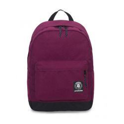 Zaino Invicta color rosso  Carlson Backpack Plain Reddish Purple online - Prezzo:   33.60 €