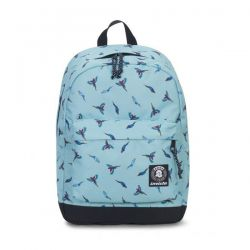 Zaino Invicta color azzurro  Carlson Backpack Fantasy Waterfall Parrots online - Prezzo:   33.60 €