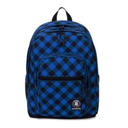 Zaino Invicta color blu  Jelek Backpack Fantasy Blue Plaid online - Prezzo:   48.30 €
