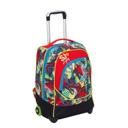 Trolley Seven color multicolor  Maxi Trolley SJ BOY online - Prezzo:   69.93 €