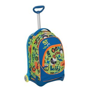 Sacca freetime Seven color multicolor  Trolley Jack Junior SJ HIGH TECH BOY online - Prezzo:   109.90 €