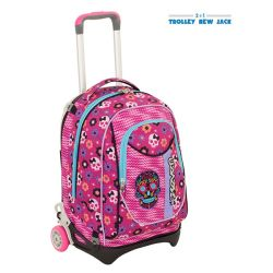 Trolley Seven color rosa  Trolley New Jack MEXI GIRL online - Prezzo:   95.90 €