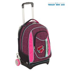 Trolley Seven color rosa  Trolley New Jack REBEL GIRL online - Prezzo:   83.93 €