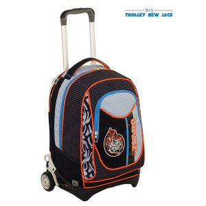 Trolley Seven color grigio  Trolley New Jack TRIBAL BOY online - Prezzo:   119.90 €